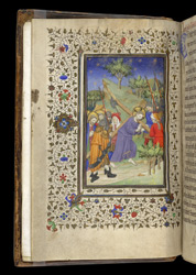 Christ Carrying the Cross, in a Volume of Writings on Ely